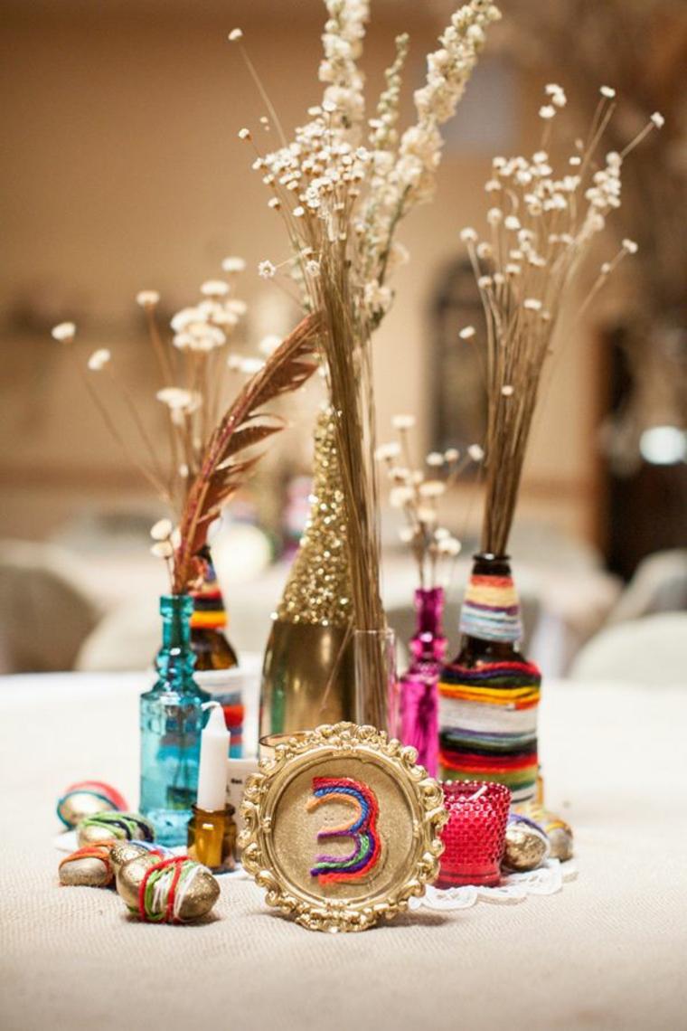 boho décoration de mariage