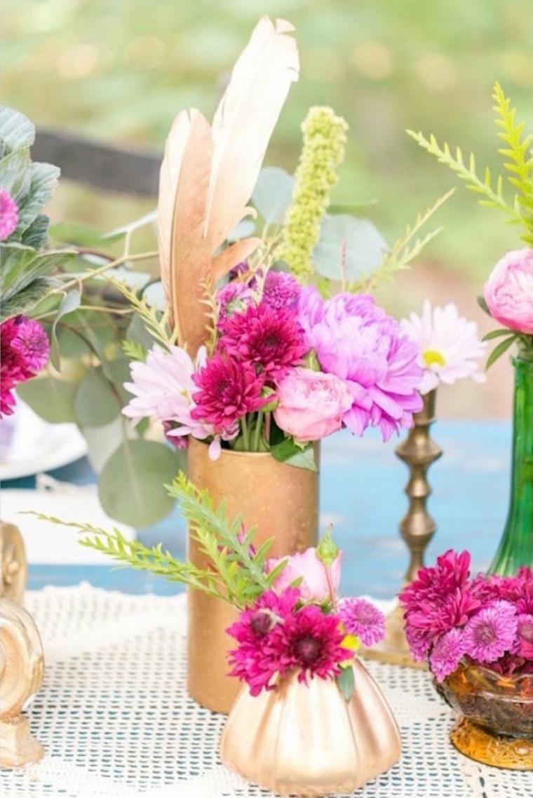 Boho idées de décoration de mariage