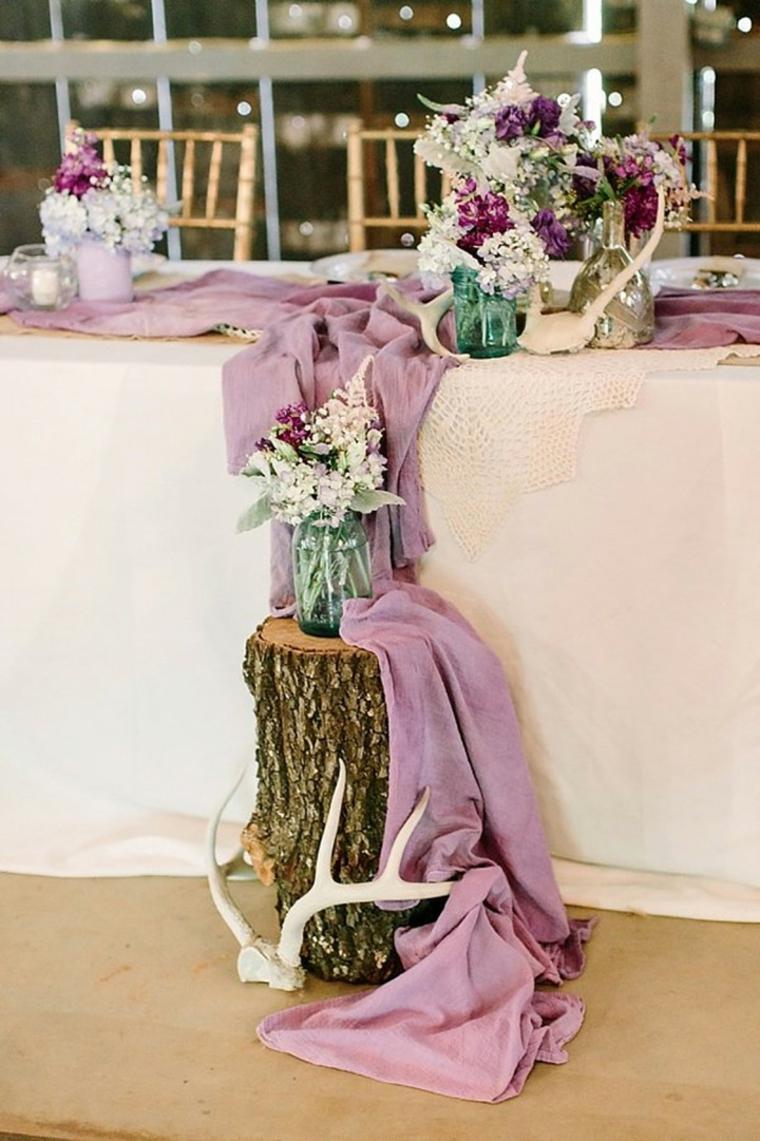 décoration de table style boho