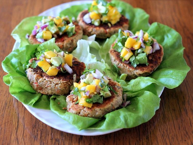 hamburgers végétaliens-idées-recettes-idées