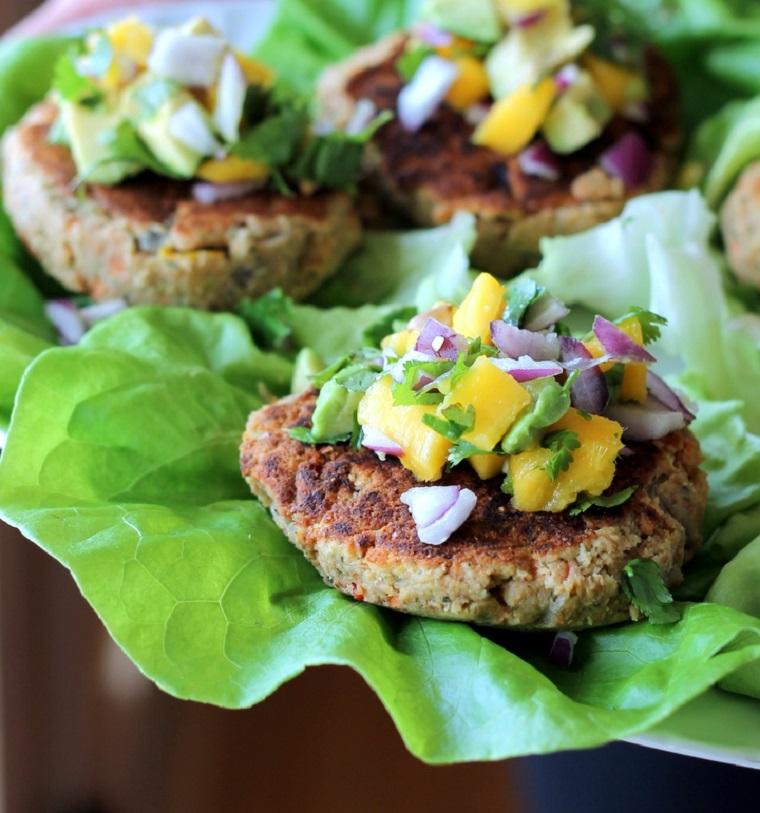 végétarien hamburgers-options-aliments-idées