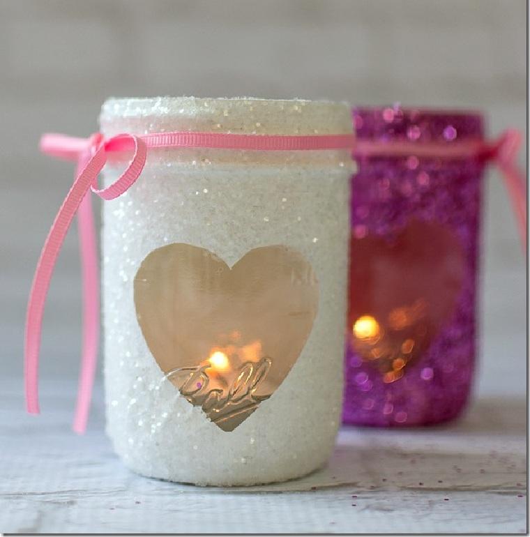 bougies pour la saint valentin