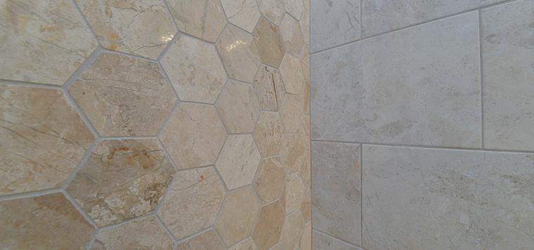 Dessins originaux de carreaux de salle de bains modernes