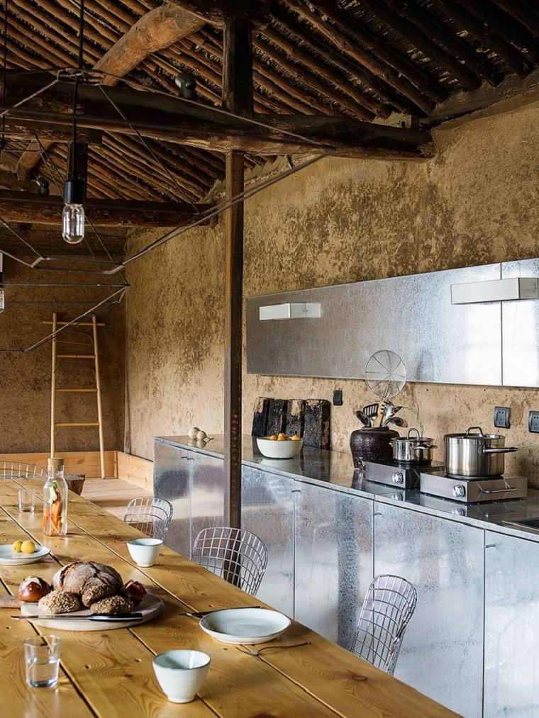casas-rurales-china-diseño-muebles-acero