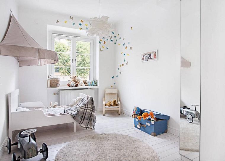 chambre denfant style dosal blanc