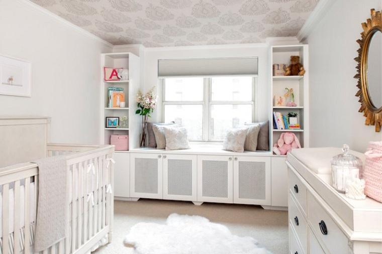 lit-chambre-chambre-bébé-mobilier-blanc-options