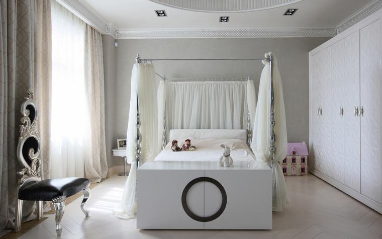 chambre denfant blanche-style contemporain