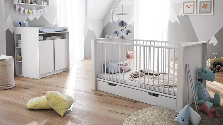 chambre à coucher-enfants-idées-meubles-style