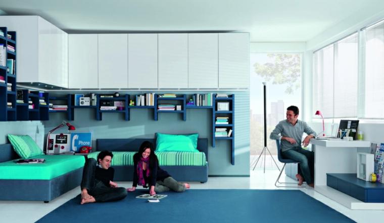 chambres juvéniles modernes