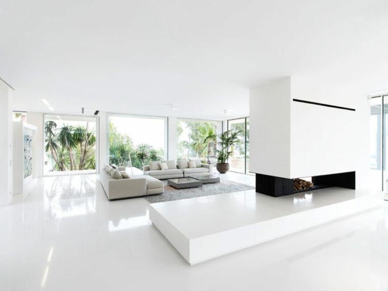 chambre moderne et minimaliste