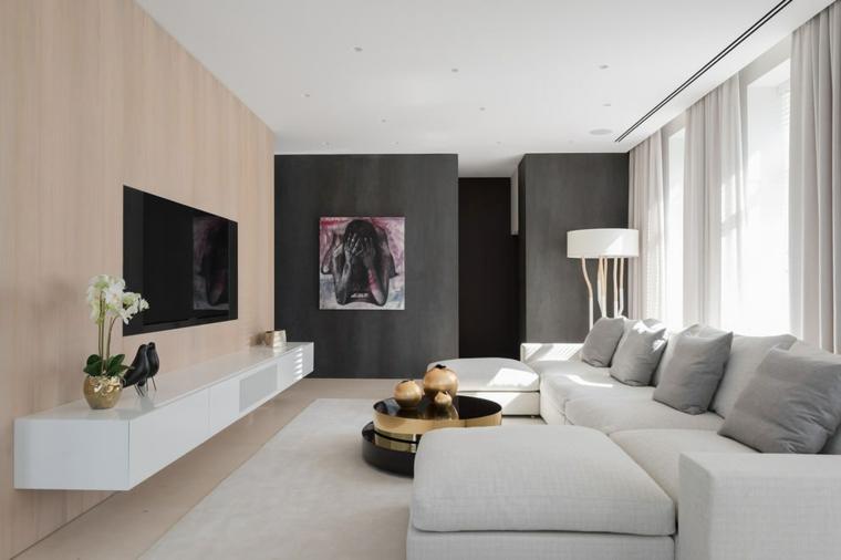 maisons de style minimaliste-moderne-élégant