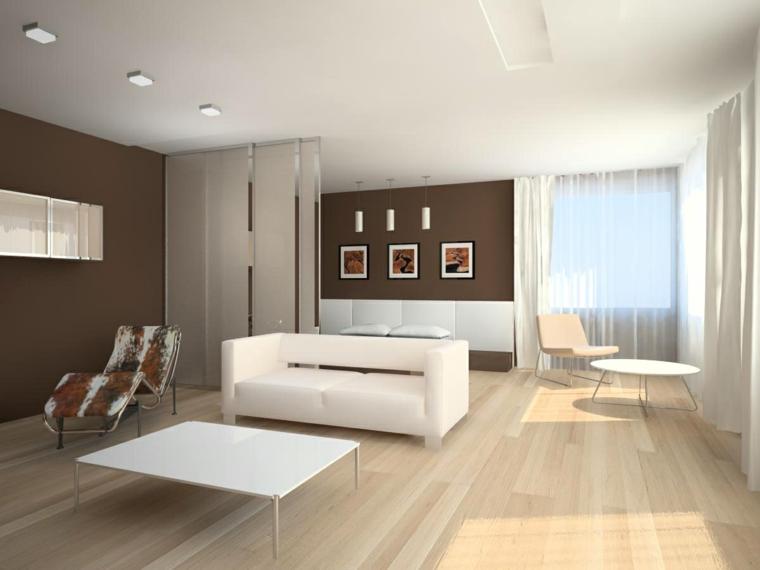 décoration minimaliste-halls-halls