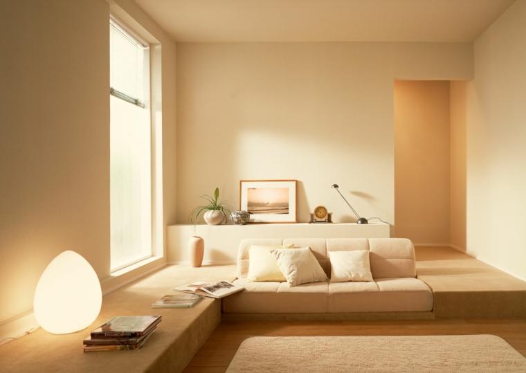 intérieurs-chambres minimalistes-modernes
