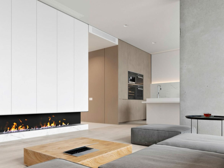 chambre moderne, élégante et minimaliste