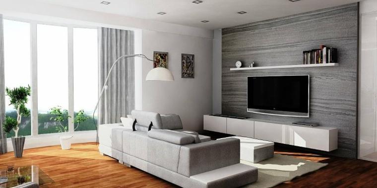 chambres minimaliste-intérieur-moderne