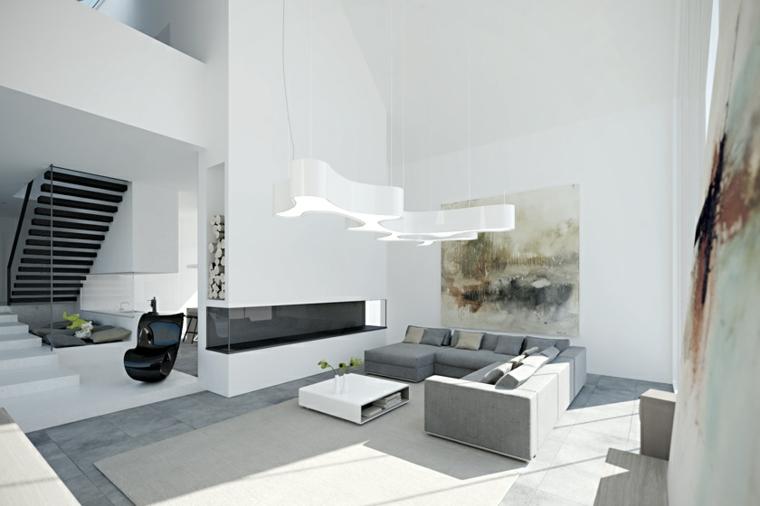 chambres minimalistes-modernes-élégantes