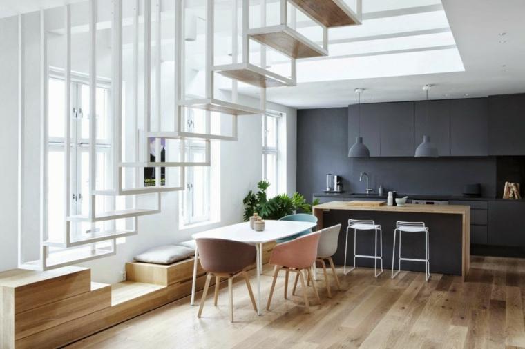 chambres minimaliste-moderne-intérieur