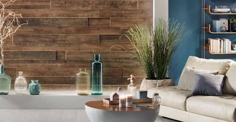 décoration chambres-murs-bois
