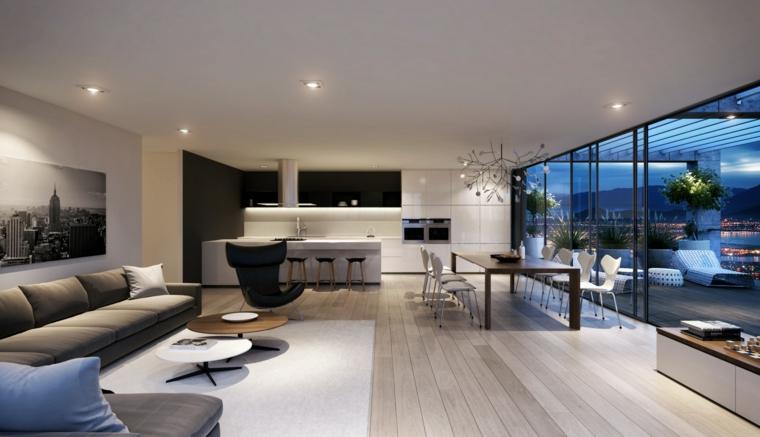 moderne-décoration-chambres élégantes