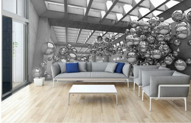meubles de salon-modernes-murs