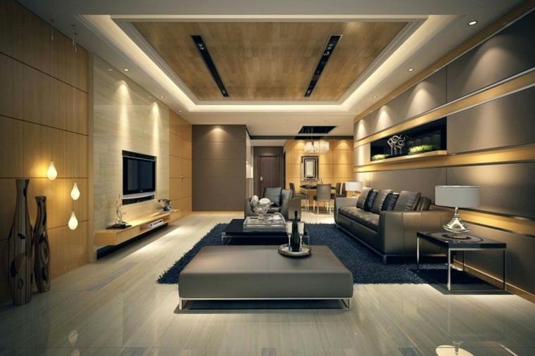 décoration de chambres-lumières modernes