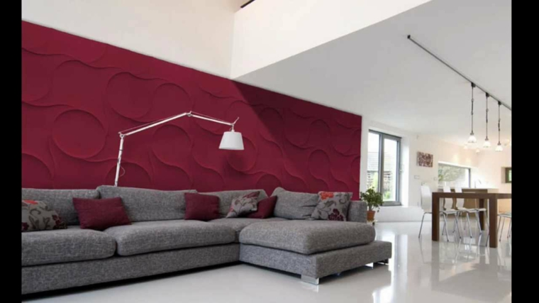 intérieurs de chambres-murs-décorés