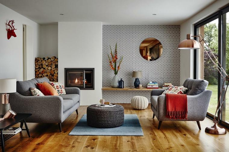 chambres modernes et confortables