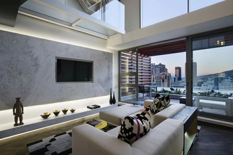 chambres modernes-décoration-intérieur
