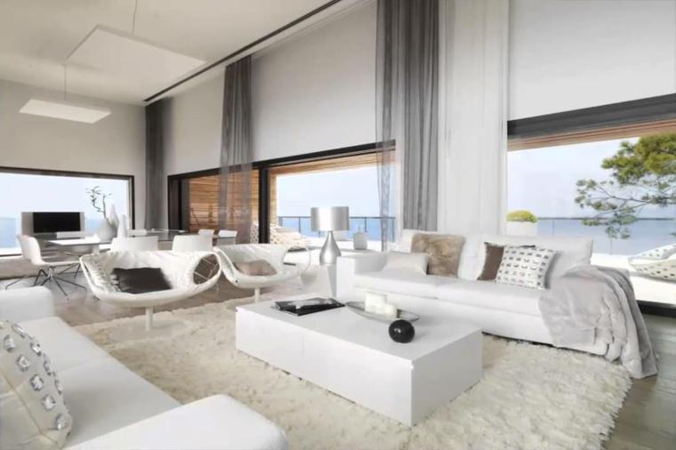 chambres modernes, élégantes et blanches