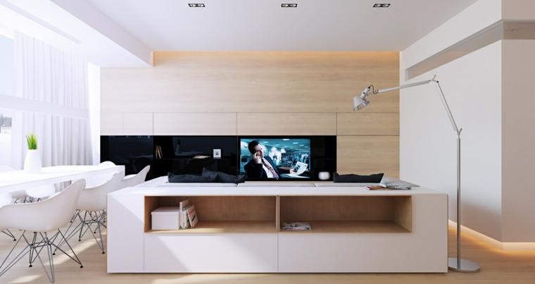 chambres modernes-salons-minimaliste