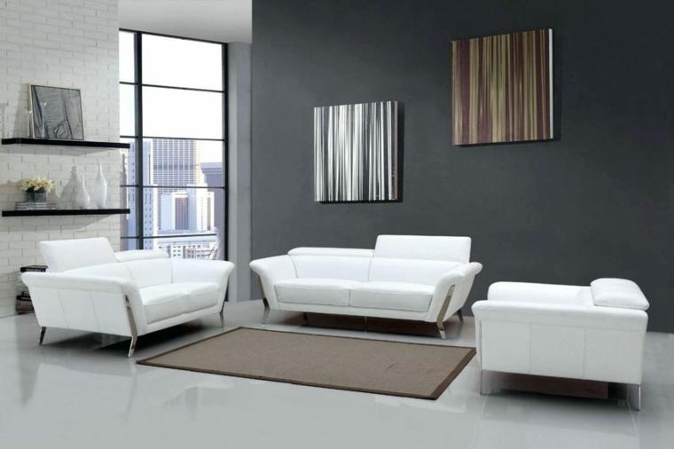 petites chambres-meubles-blanc