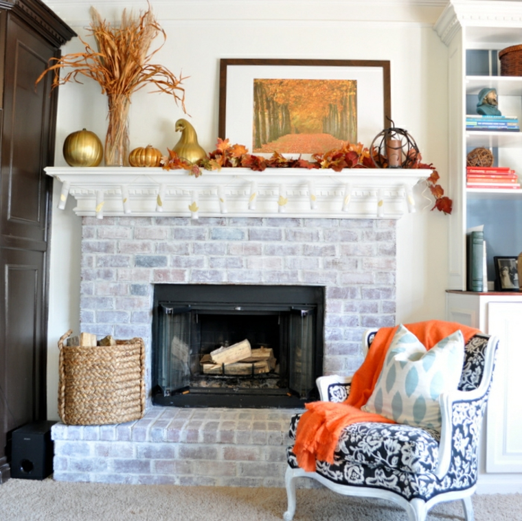 Belles idées pour décorer la cheminée