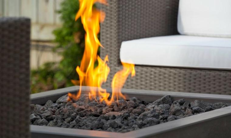 cheminées modernes pour les jardins
