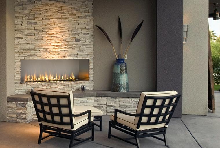 cheminée de style moderne