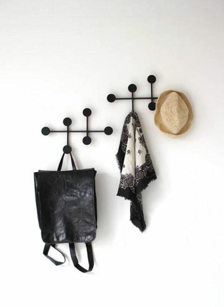 portemanteaux pour vêtements métalliques