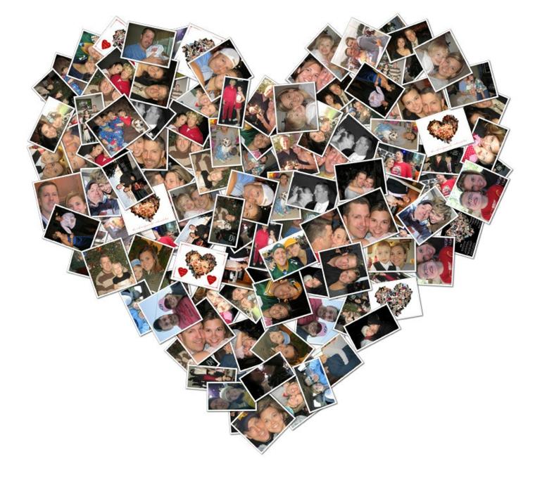 collage-idée de coeur