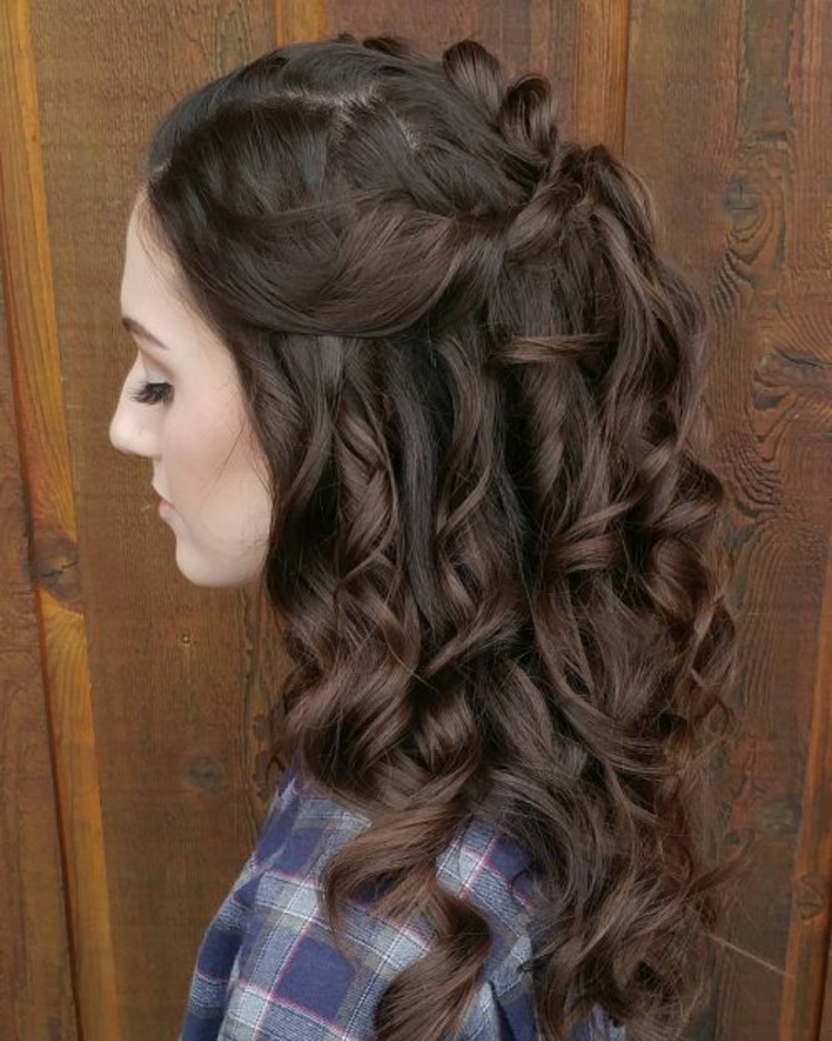 cheveux cascade