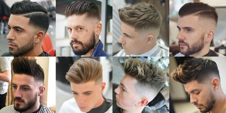 coiffures homme-idées-original-tendances-2018