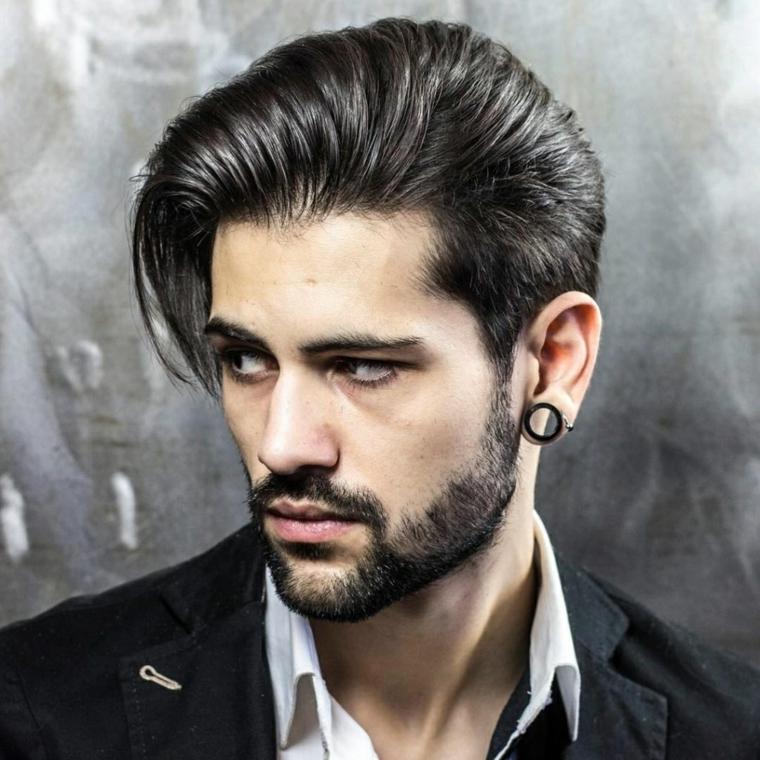 cheveux-côté-options-homme-style-moderne