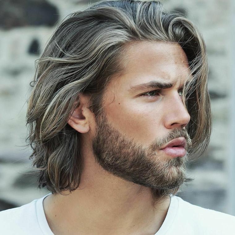 cheveux-long-barbe-style-mâle