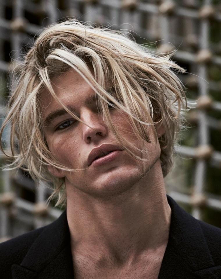 cheveux-mâle-long-blond-options