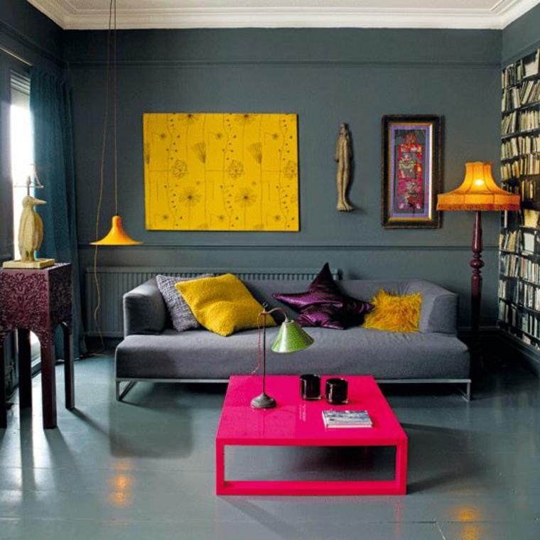 combinaisons de couleurs jaune et gris