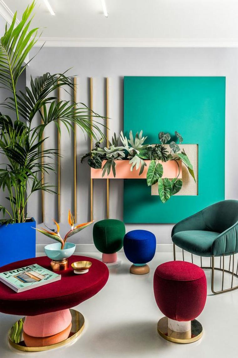 combinaisons de couleurs vives