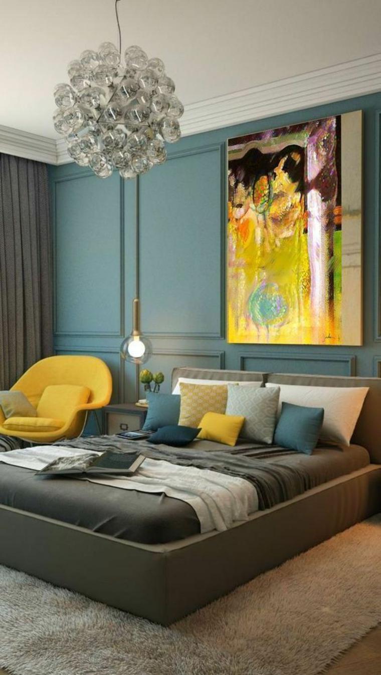 combinaisons de couleurs de chambre