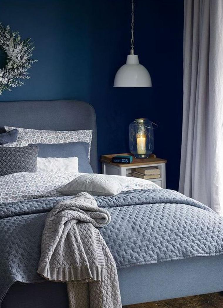 combinaisons de couleurs gris et bleu