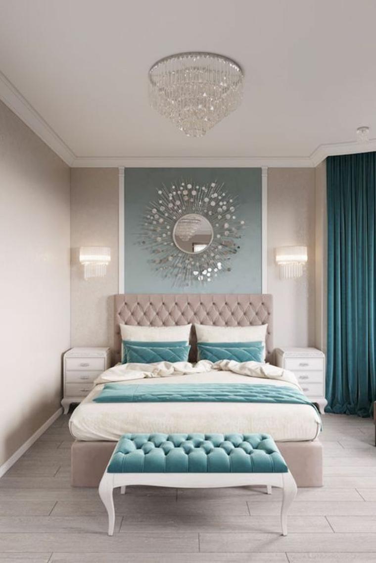 chambre à coucher de style vintage