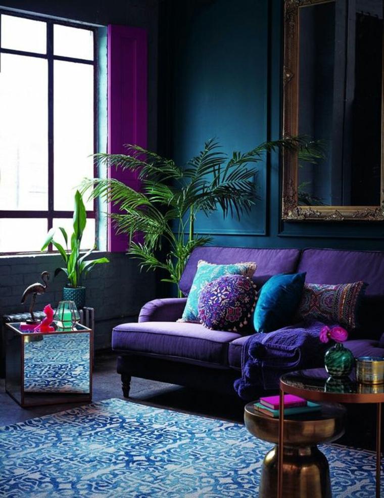 combinaisons de violet et de fuscia