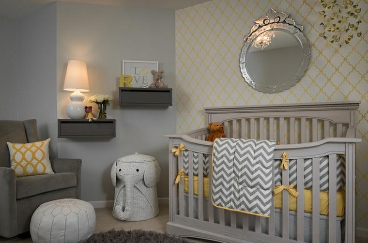 chambre-bébé-couleurs neutres