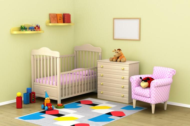 tapis de chambre de bébé