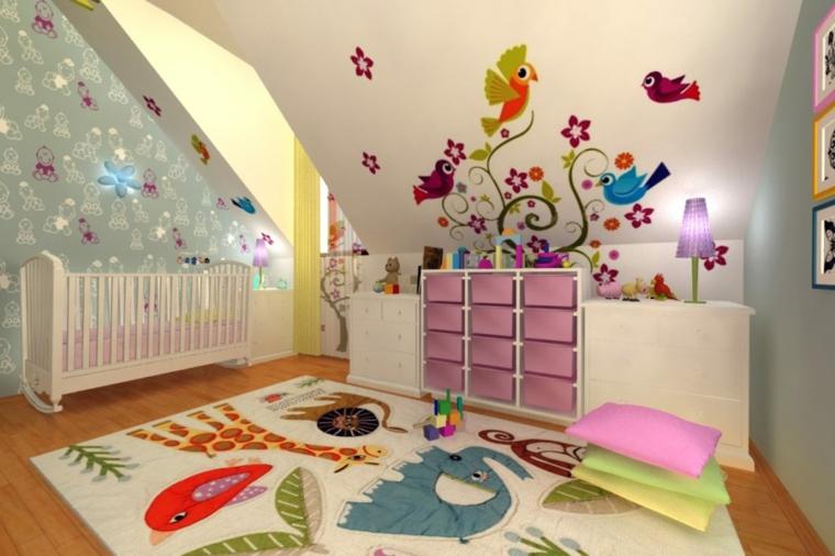 chambre pour bébé décorée